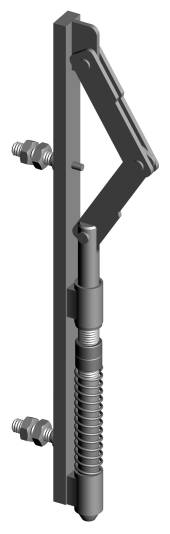 Auto-bolt for Double Swing Gates