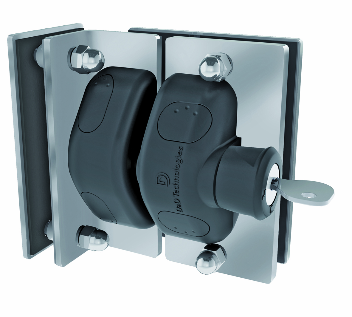 Vizage Stainless Steel Mounting Brackets With Lockable